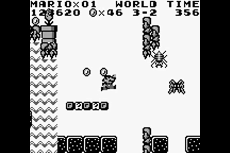 (GB)   [TEST] Super Mario Land Game Boy 128