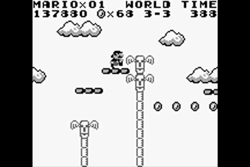 (GB)   [TEST] Super Mario Land Game Boy 129