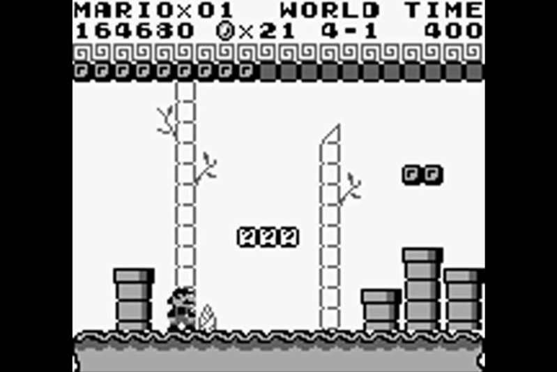 (GB)   [TEST] Super Mario Land Game Boy 130