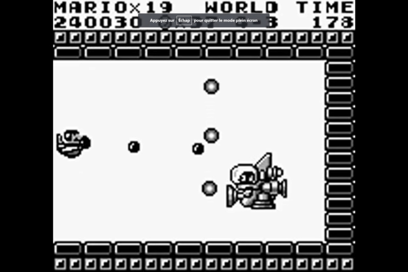 (GB)   [TEST] Super Mario Land Game Boy 131