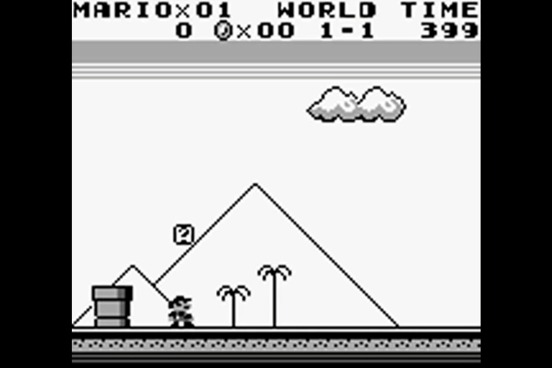 (GB)   [TEST] Super Mario Land Game Boy 213