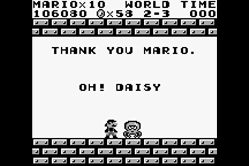 (GB)   [TEST] Super Mario Land Game Boy 216