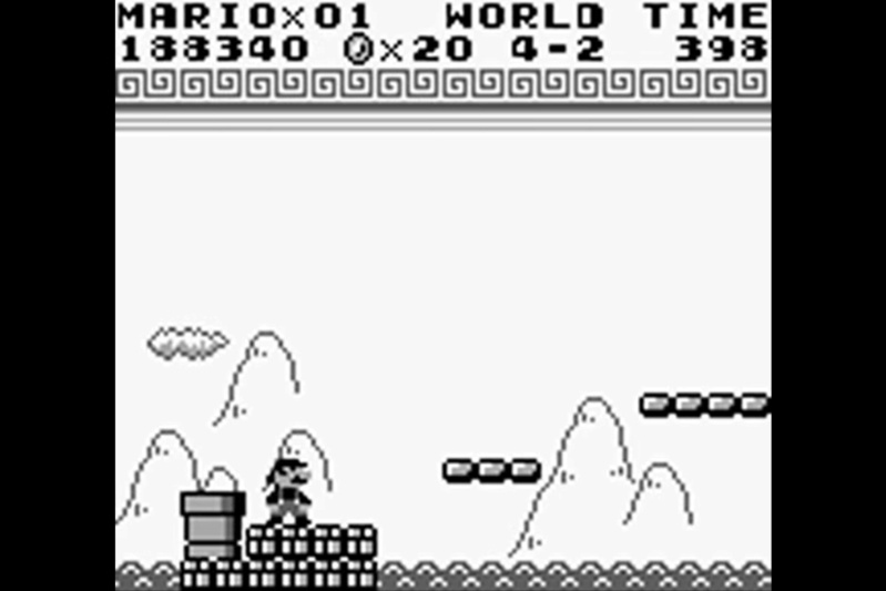 (GB)   [TEST] Super Mario Land Game Boy 218