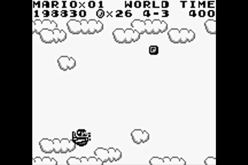 (GB)   [TEST] Super Mario Land Game Boy 317