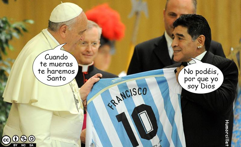Iglesia Maradoniana Marado10