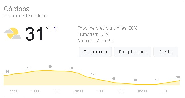 Qué tiempo hace donde vives? Screen13