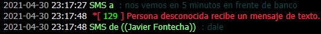 Reporte a Javier Fontecha 411