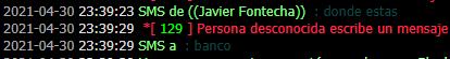 Reporte a Javier Fontecha 610