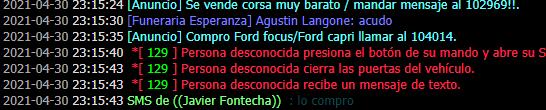 Reporte a Javier Fontecha Captur18