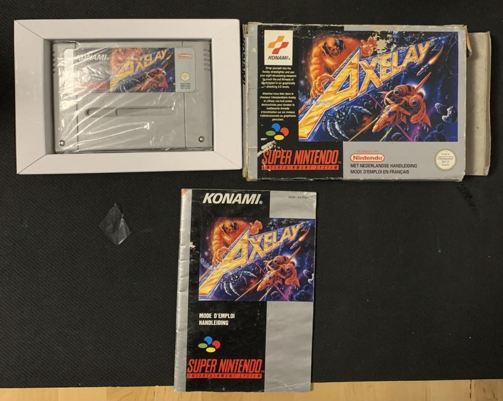 [VDS/ECH] Jeux Super Nintendo FAH/FRA/EUR/UKV - Baisse de prix Axelay10
