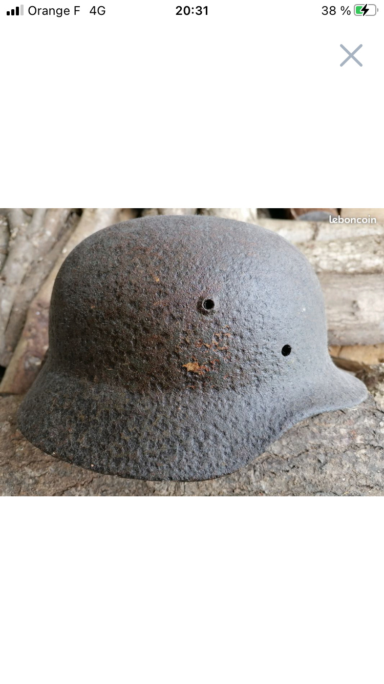 Casque allemand seconde guerre aide authentification  9ae00810