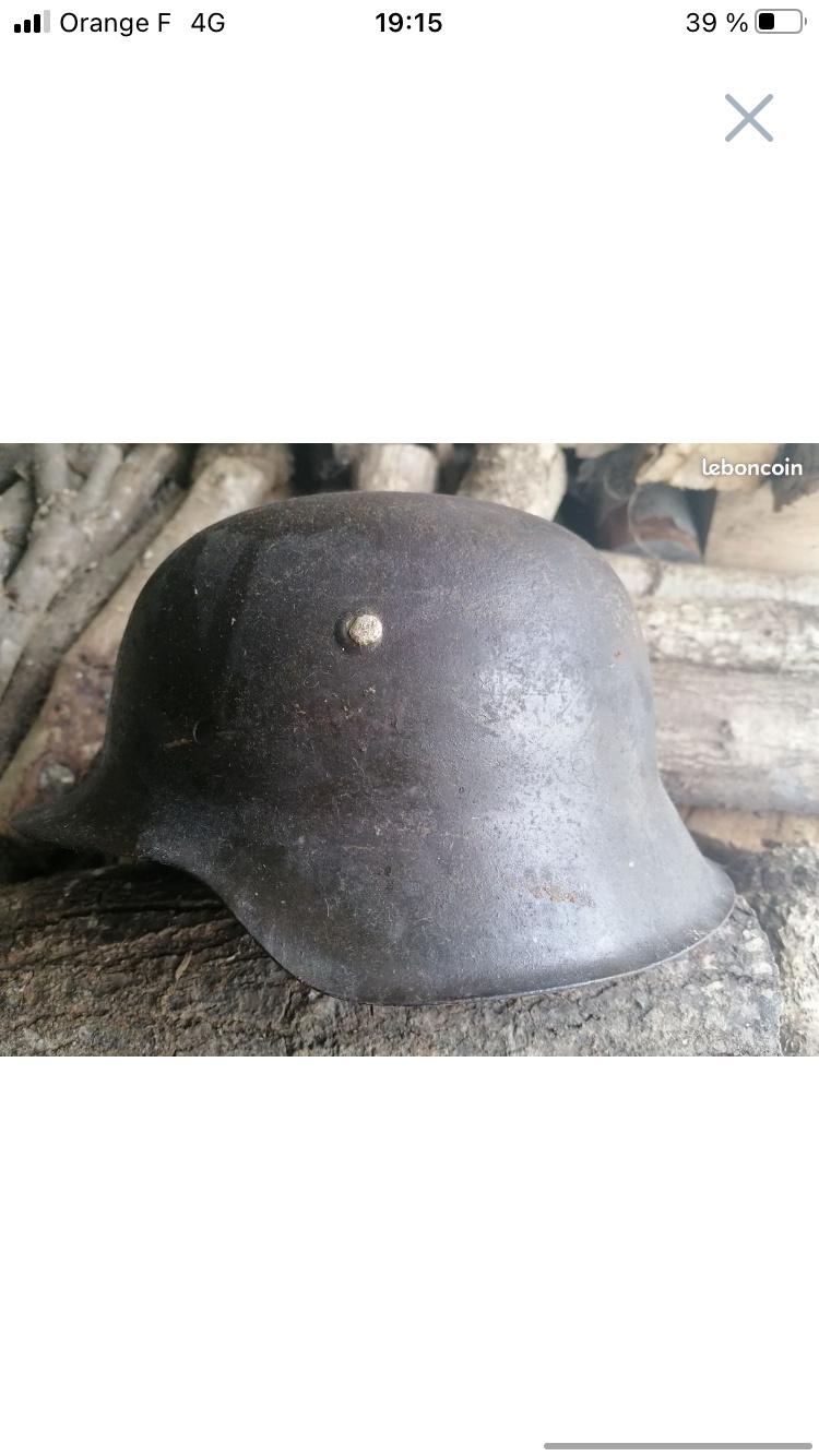 Casque allemand seconde guerre aide authentification  9d7d7410