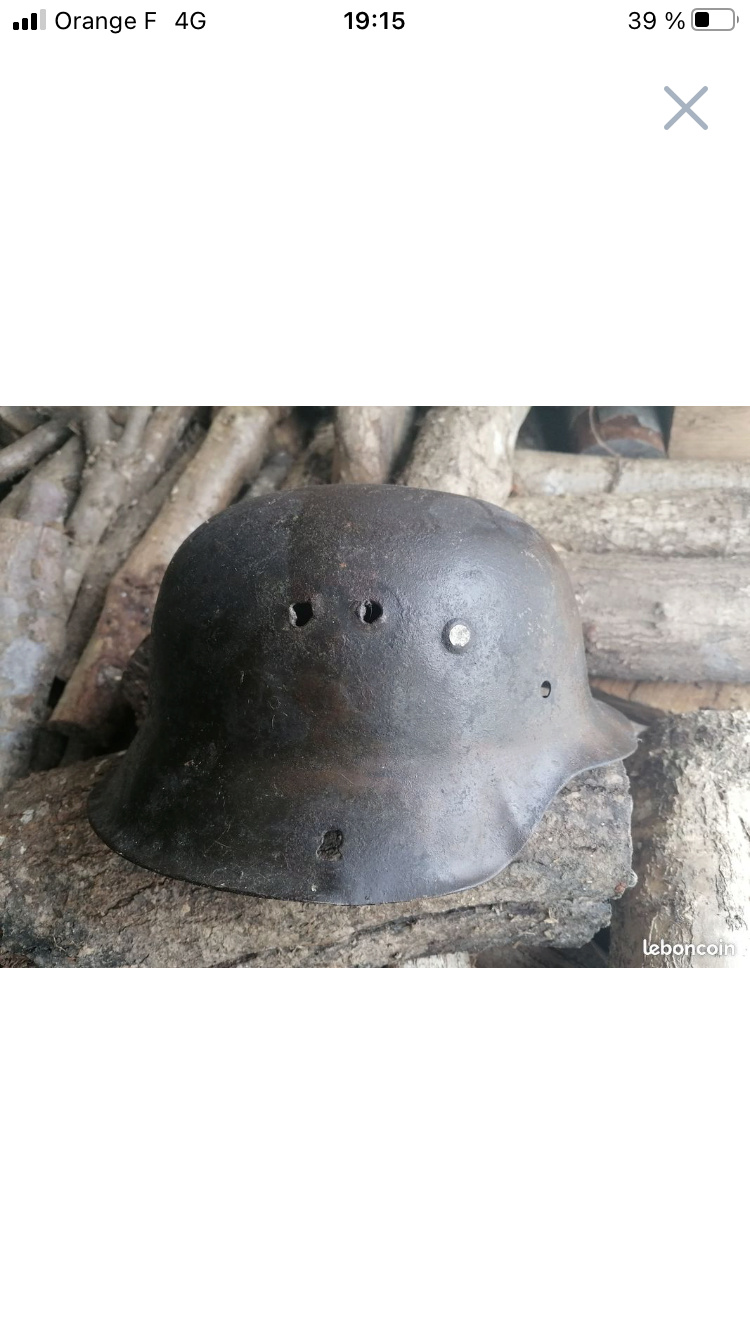 Casque allemand seconde guerre aide authentification  B9188c10