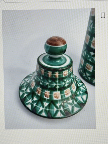 French Pottery Art Deco?  Hand signed  D (backwards) and D pottery Paris 006ecf10