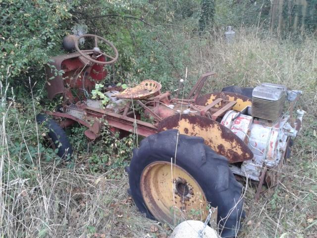 TRACTEUR - tracteur reymond simplex 602 de 1948 (?) moteur briban 20131110