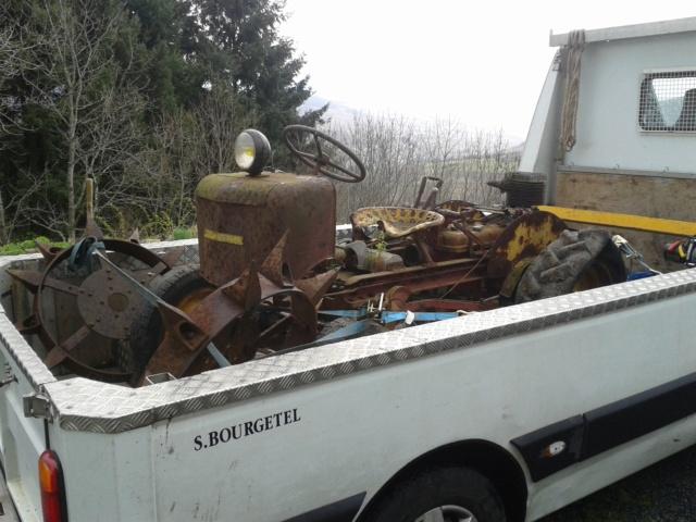 TRACTEUR - tracteur reymond simplex 602 de 1948 (?) moteur briban 20140310