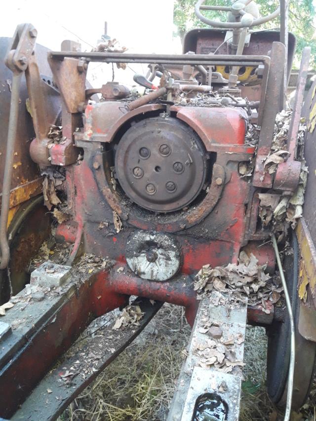 TRACTEUR - tracteur reymond simplex 602 de 1948 (?) moteur briban 20190714