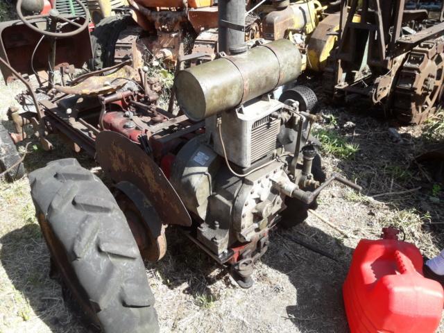 TRACTEUR - tracteur reymond simplex 602 de 1948 (?) moteur briban 20190717