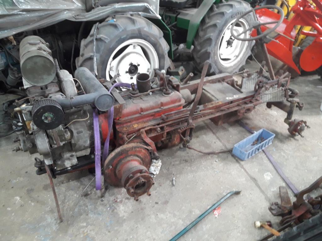 TRACTEUR - tracteur reymond simplex 602 de 1948 (?) moteur briban 20191020