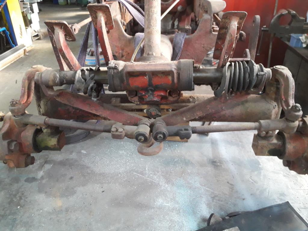 TRACTEUR - tracteur reymond simplex 602 de 1948 (?) moteur briban 20191025