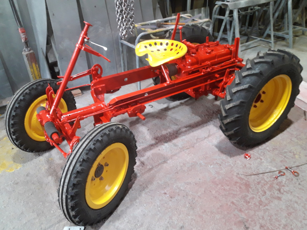 TRACTEUR - tracteur reymond simplex 602 de 1948 (?) moteur briban 20200321
