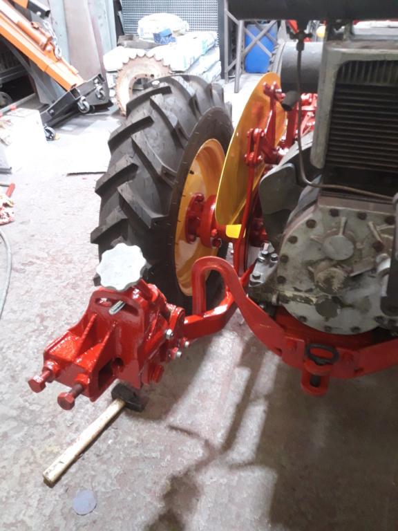 TRACTEUR - tracteur reymond simplex 602 de 1948 (?) moteur briban 20200425