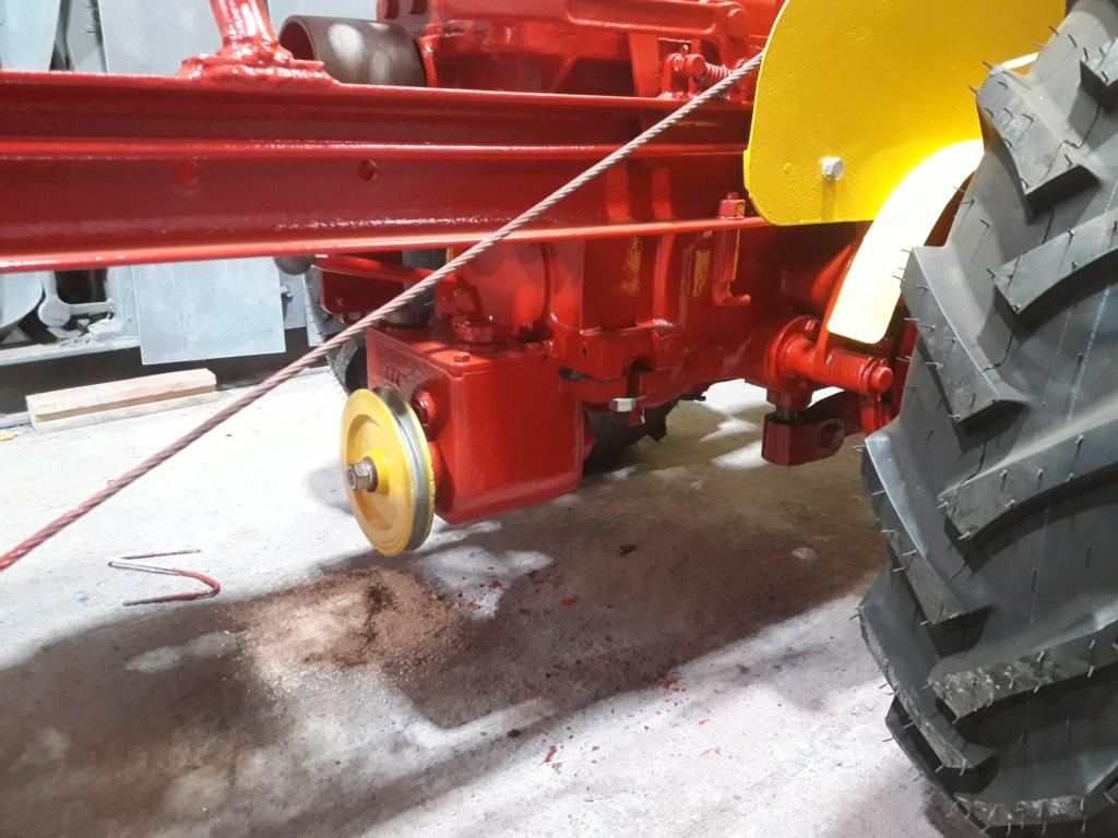 TRACTEUR - tracteur reymond simplex 602 de 1948 (?) moteur briban 20200426