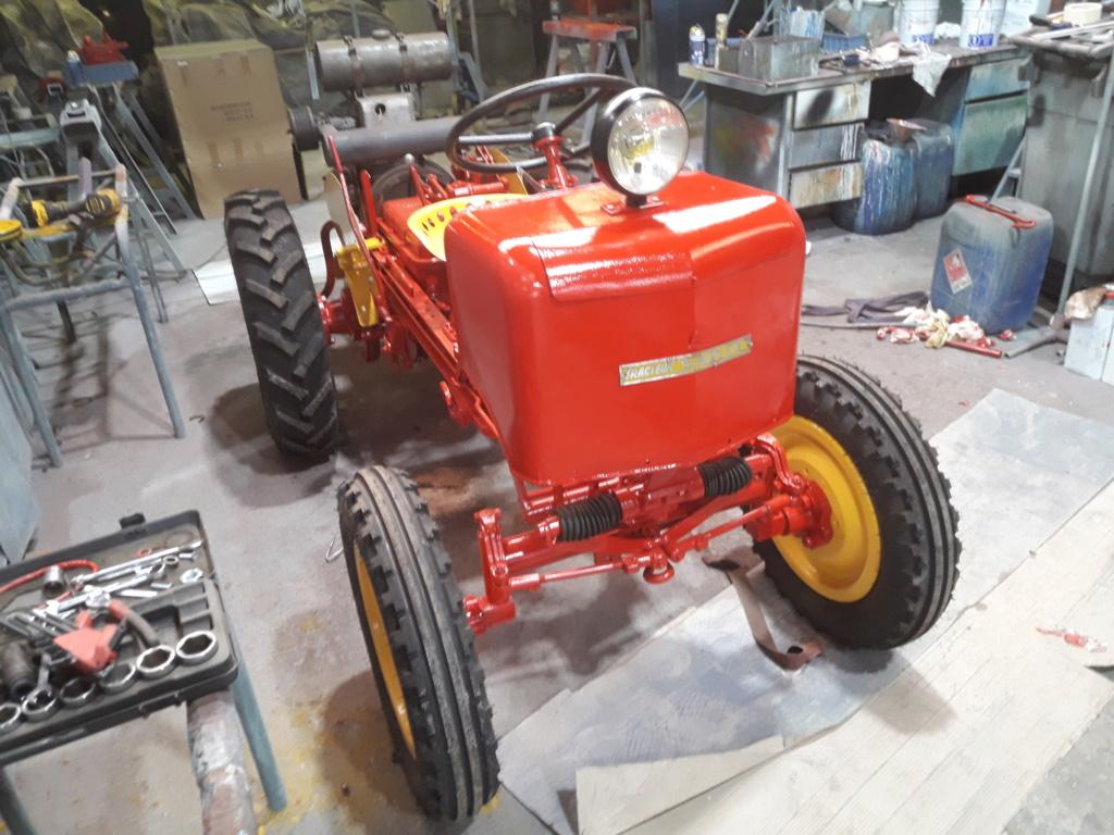 TRACTEUR - tracteur reymond simplex 602 de 1948 (?) moteur briban 20200427