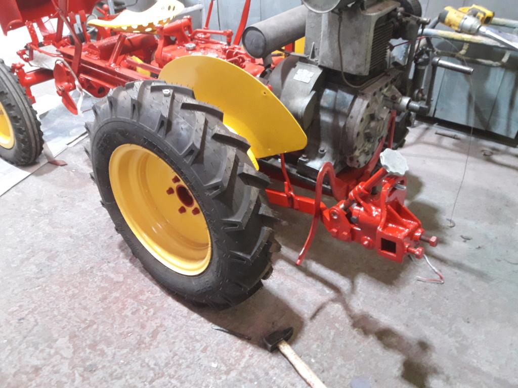 TRACTEUR - tracteur reymond simplex 602 de 1948 (?) moteur briban 20200428