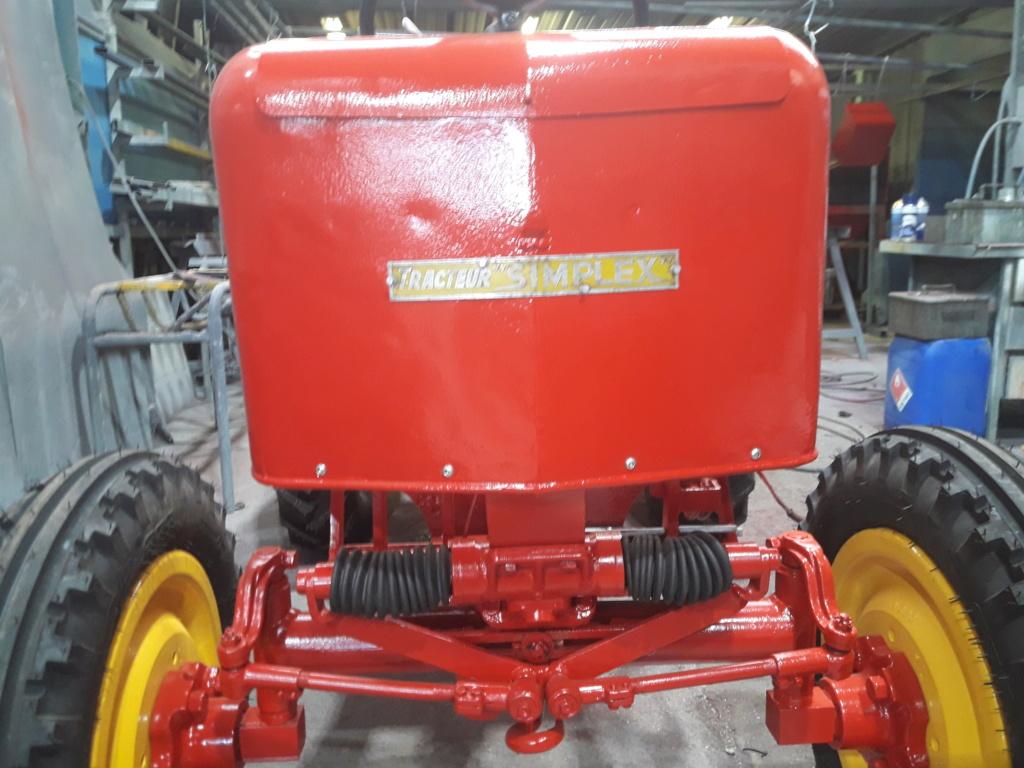 TRACTEUR - tracteur reymond simplex 602 de 1948 (?) moteur briban 20200432
