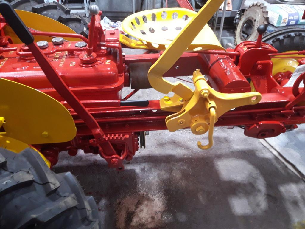 TRACTEUR - tracteur reymond simplex 602 de 1948 (?) moteur briban 20200433