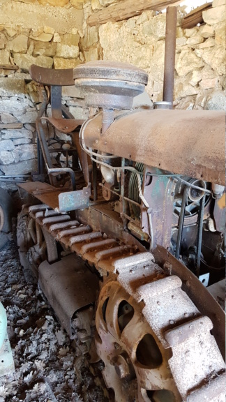Bernard - ( Vendu ) Chenillard moteur Bernard BT 14 20200612