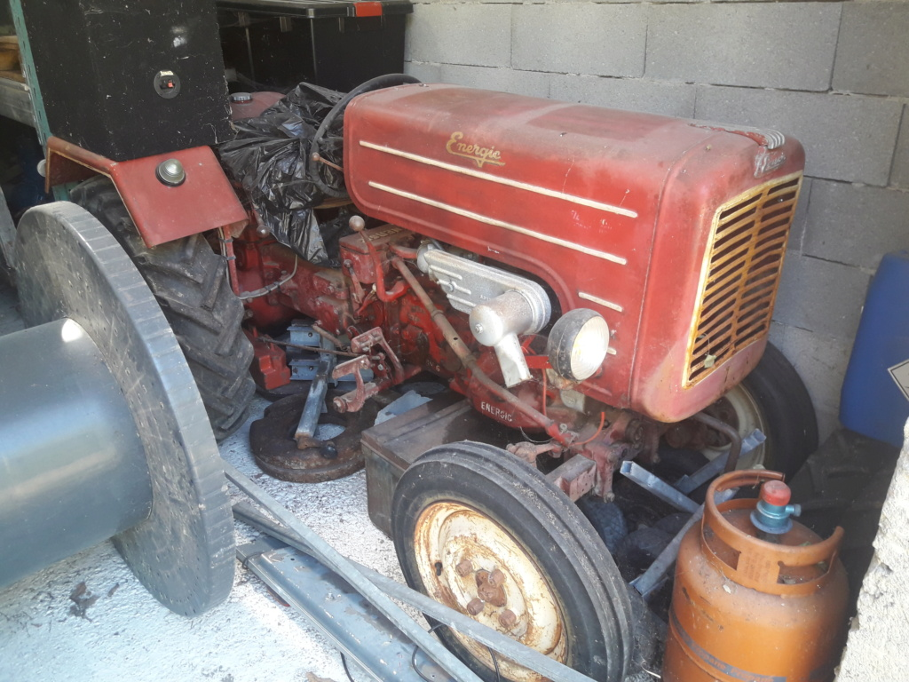 TRACTEUR - ( Vends ) tracteur Energic 511 avec cg  20200710