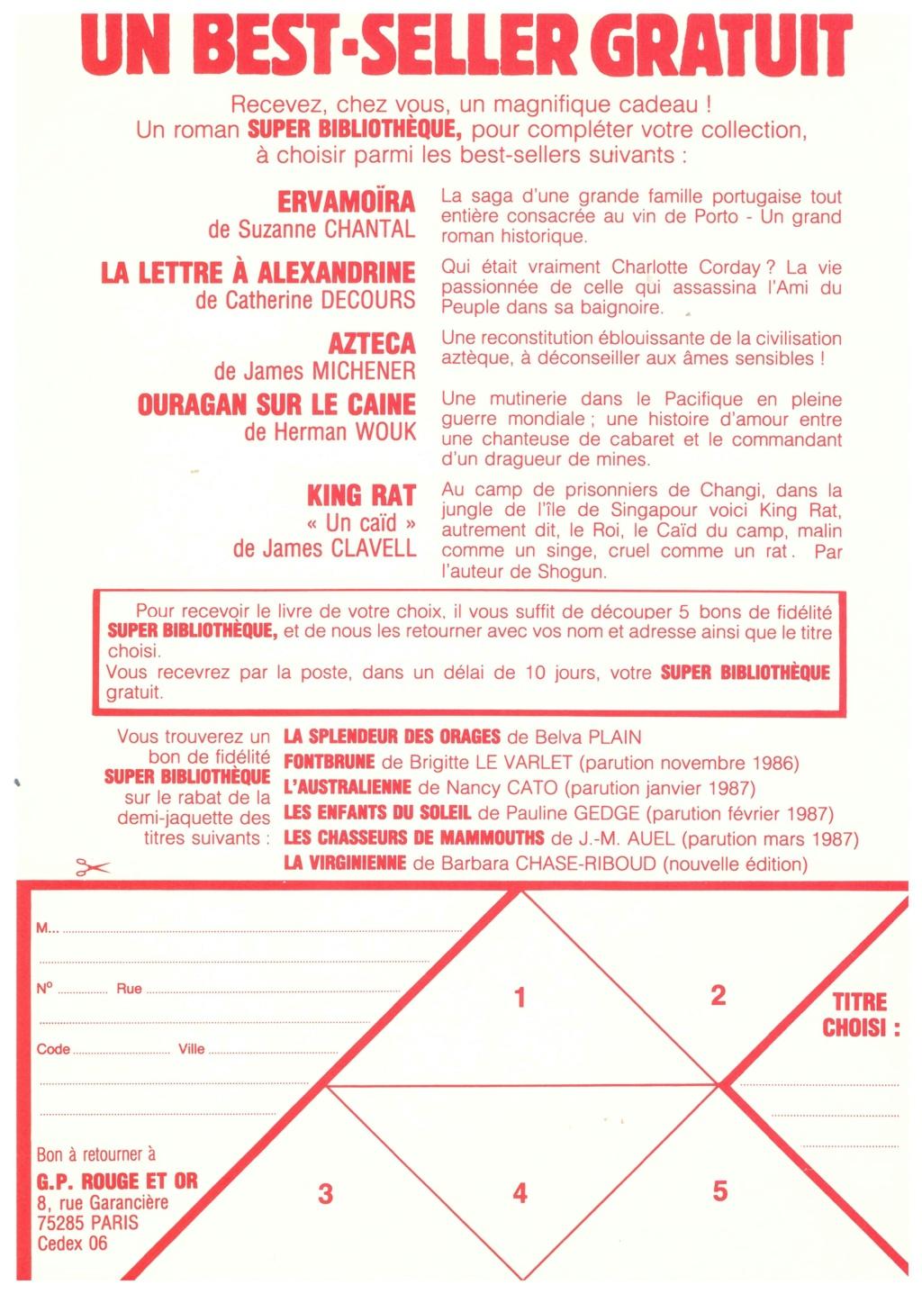 scans catalogue collection SUPER 1966 Num_2049