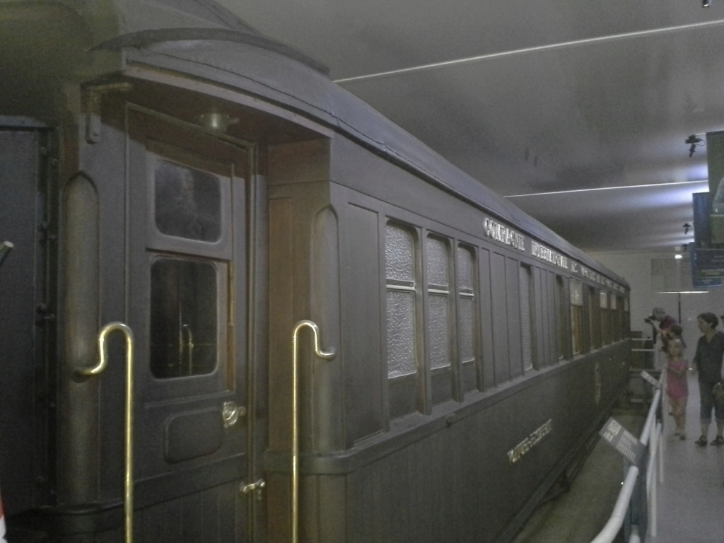 wagon signature de l'armistice 20190710