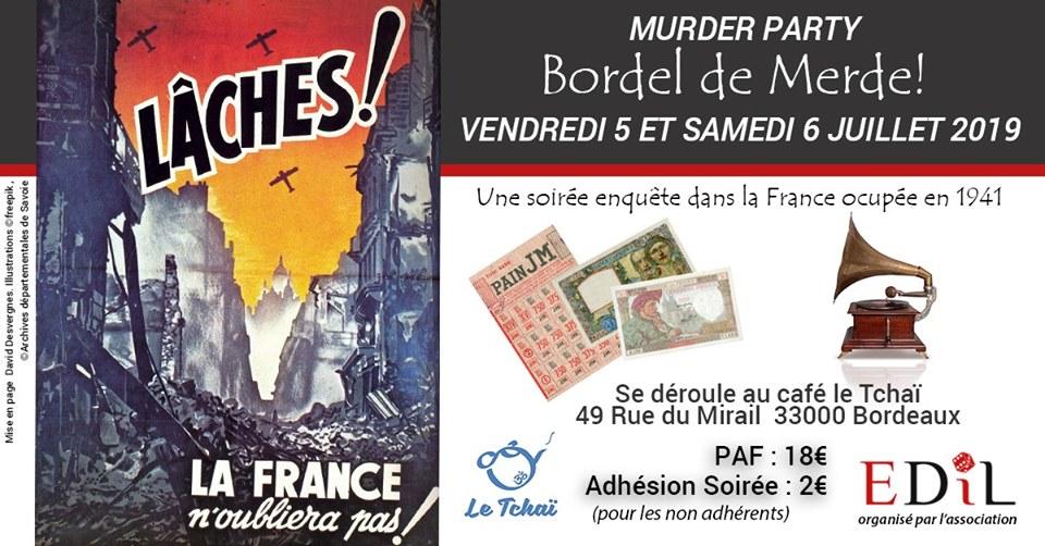 """GN """"Bordel de merde"""" les 5-6 juillet 2019 à Bordeaux (EDIL) Bdm10"""