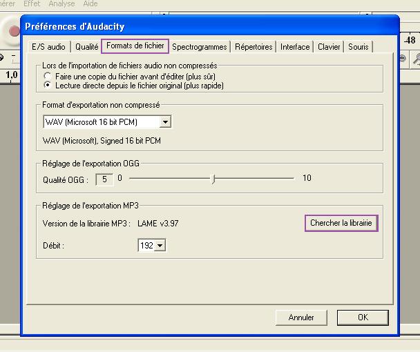[Débutant][Audacity] Créer des fichiers mp3 211