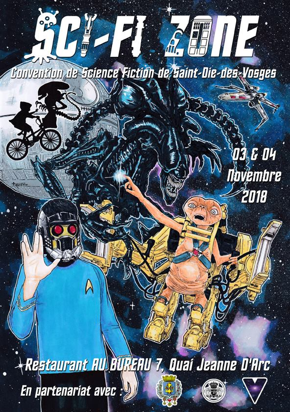 Convention Sci Fi Zone (Saint Dié, 3 et 4 novembre 2018) 41884410
