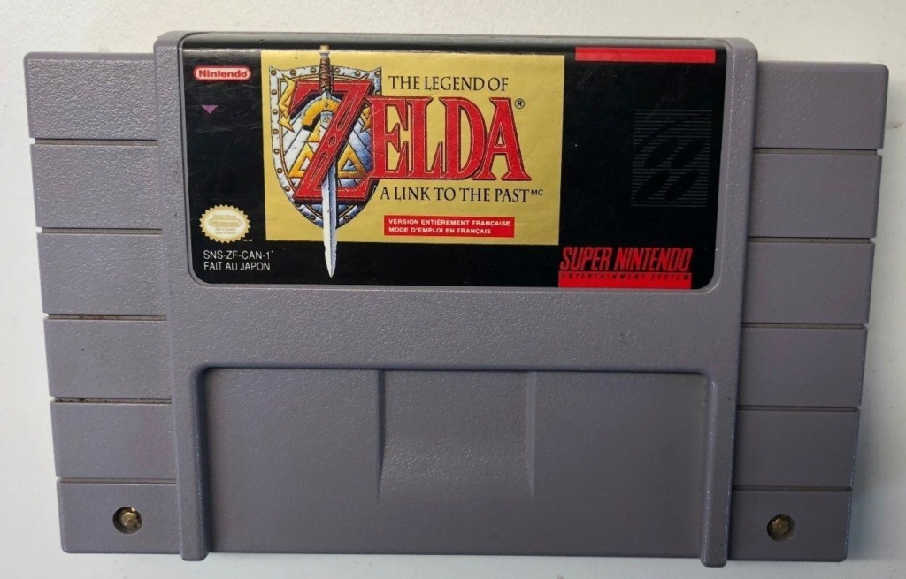 [ACH] Jeu Zelda 3 snes cartouche USA loose (version canada french) Cartou10