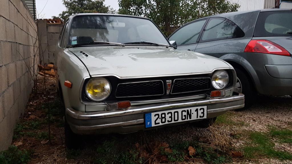Enfin j'en ai une .. Honda CIVIC SB1 de 1977 1ère génération 20180185