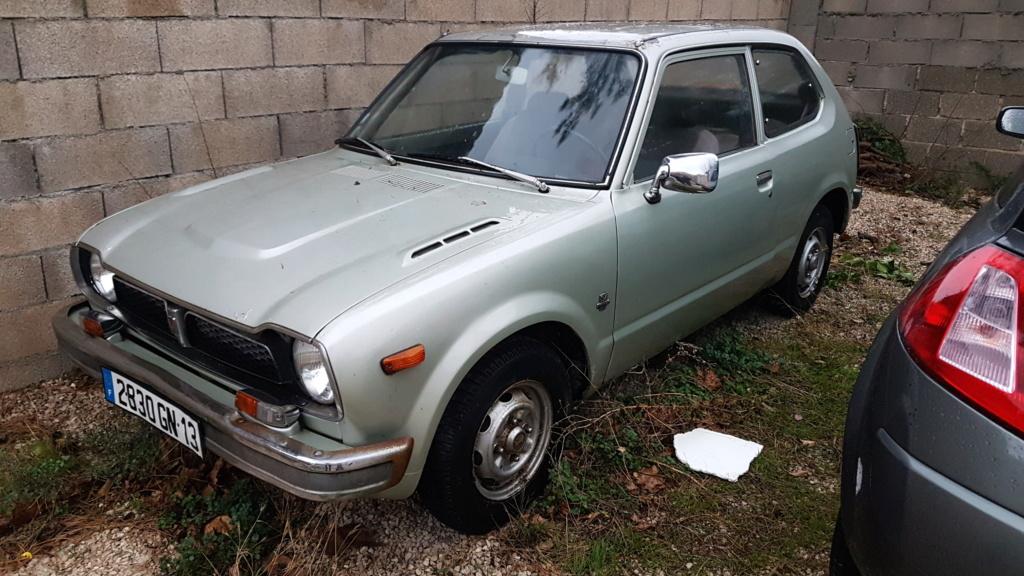 Enfin j'en ai une .. Honda CIVIC SB1 de 1977 1ère génération 20180186