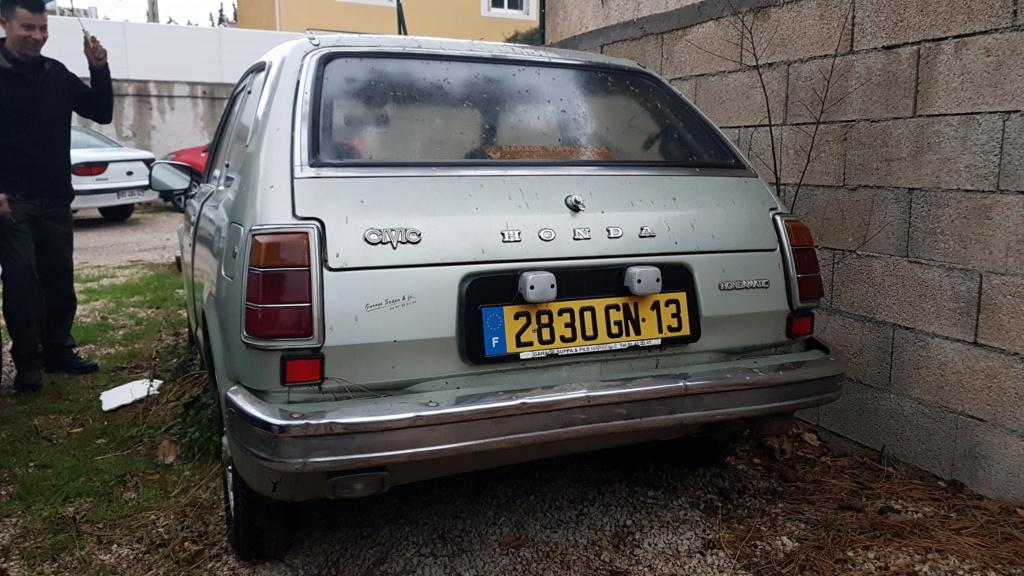 Enfin j'en ai une .. Honda CIVIC SB1 de 1977 1ère génération 20180187