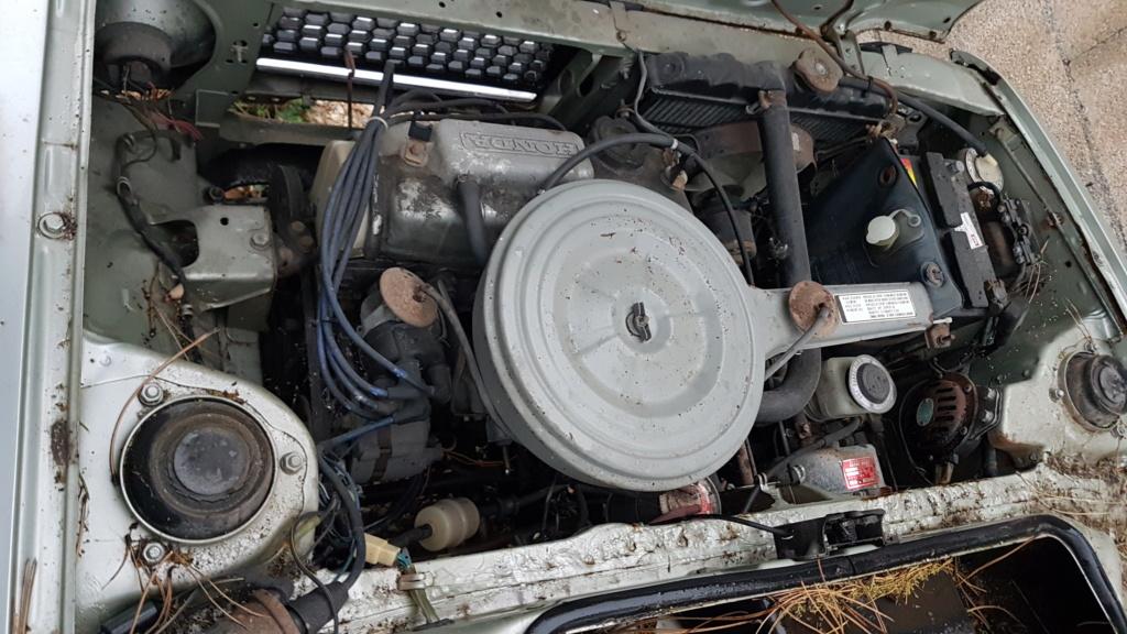 Enfin j'en ai une .. Honda CIVIC SB1 de 1977 1ère génération 20180191