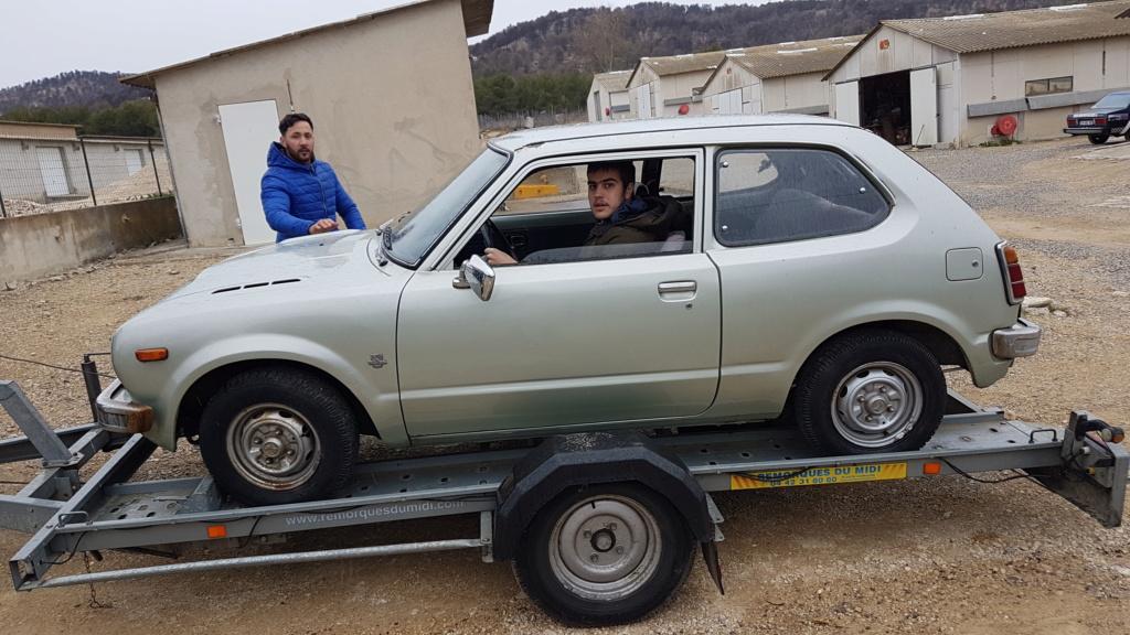Enfin j'en ai une .. Honda CIVIC SB1 de 1977 1ère génération 20180197