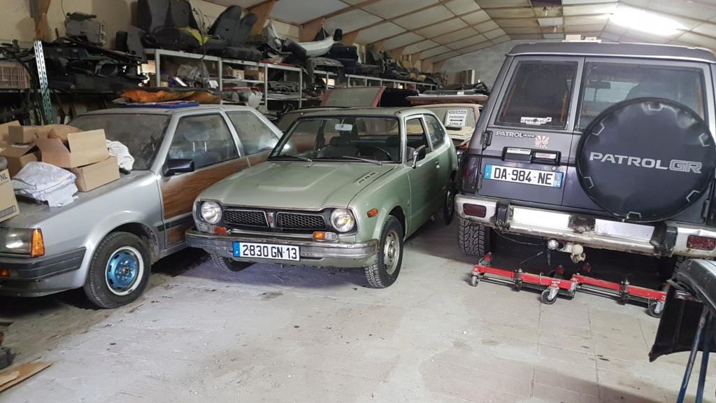Enfin j'en ai une .. Honda CIVIC SB1 de 1977 1ère génération 20180199