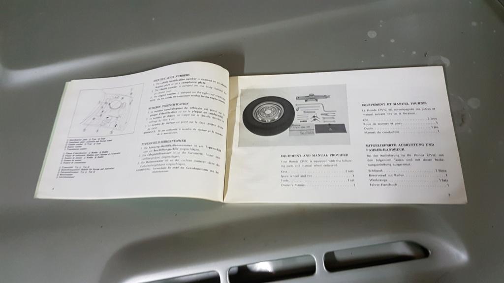 Enfin j'en ai une .. Honda CIVIC SB1 de 1977 1ère génération 20180215