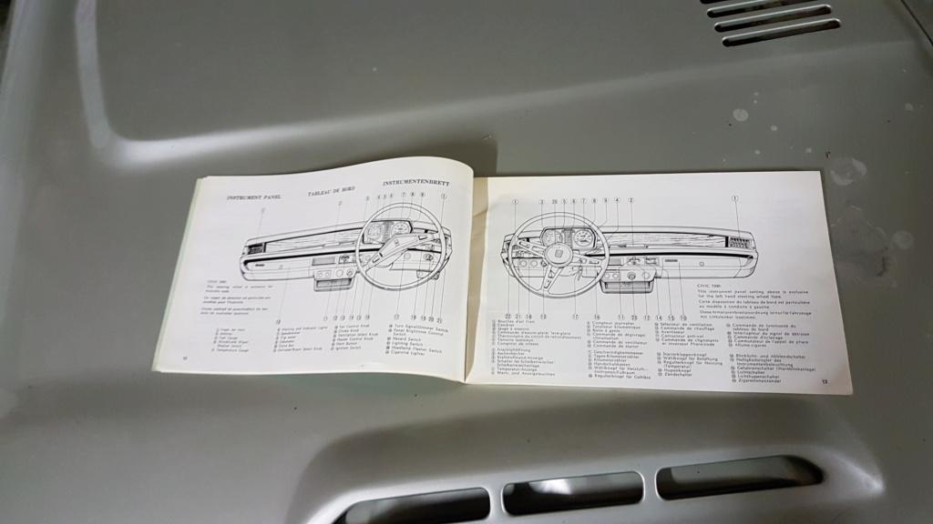 Enfin j'en ai une .. Honda CIVIC SB1 de 1977 1ère génération 20180217