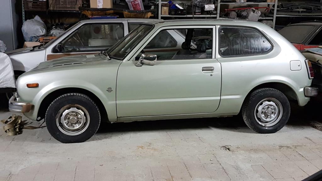 Enfin j'en ai une .. Honda CIVIC SB1 de 1977 1ère génération 20180225