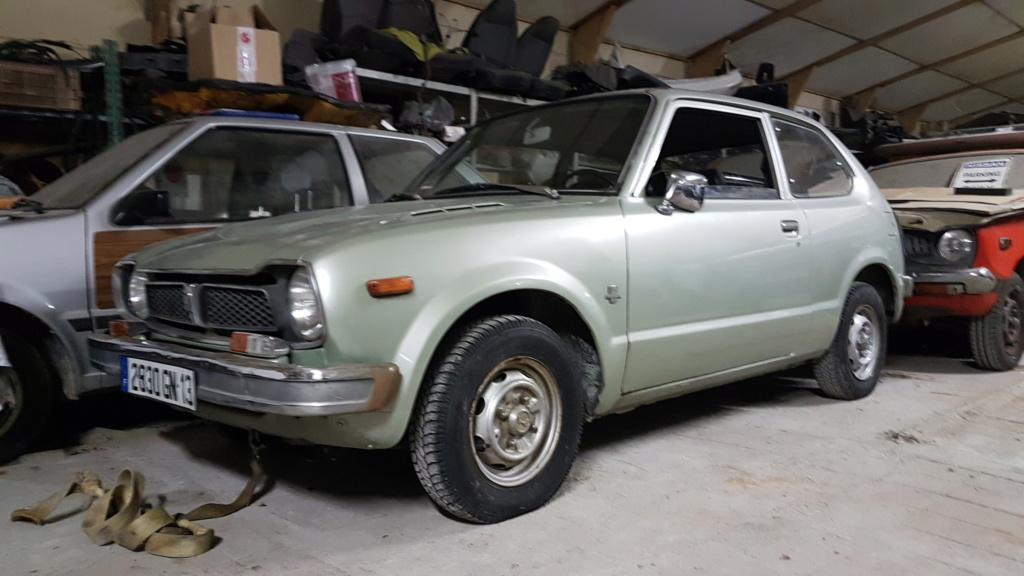 Enfin j'en ai une .. Honda CIVIC SB1 de 1977 1ère génération 20180227