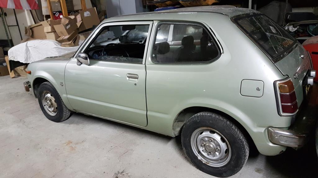 Enfin j'en ai une .. Honda CIVIC SB1 de 1977 1ère génération 20180228